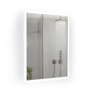 700W Mirrored IR Panel Heater With LED Backlight