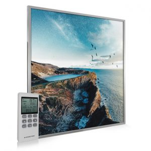 995x1195 Mystical Lagoon Picture NXT Gen Infrared Heating Panel 1200W - Electric Wall Panel Heater