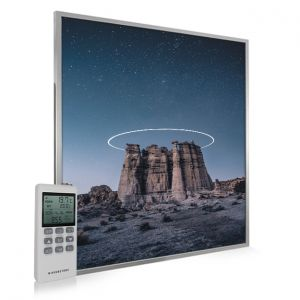 995x1195 Starry Halo Picture NXT Gen Infrared Heating Panel 1200W - Electric Wall Panel Heater