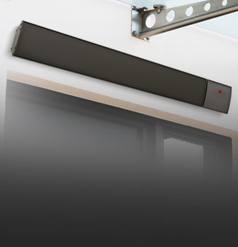 Helios Non-Remote Infrared Bar Heaters